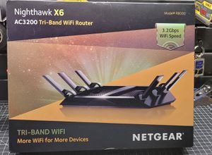 Nighthawk X6 Wireless Router for Sale in Pearland, TX