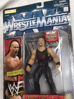 1998 Wrestle Mania Action Figure Stone Cold Steve Austin for Sale in Issaquah,  WA