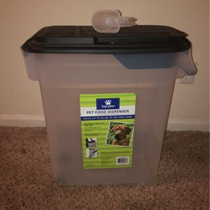 Pet Food Storage Container for Sale in Virginia Beach, VA