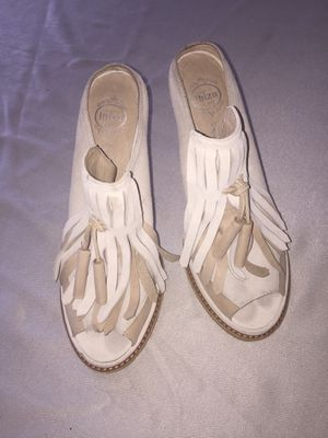Jeffery Campbell Ibiza Suede fringe Sandal for Sale in Fort Myers, FL