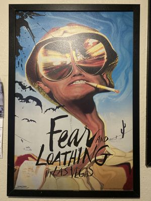 """24""""x36"""" Fear and Loathing in Las Vegas, Canvas print in wooden frame. for Sale in Upland, CA"""