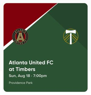 Atlanta United at Portland Timbers Sec 95 $47.50 each (four seats together) for Sale in Portland, OR