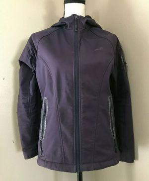 AVIA Women's S Purple Fleece Lined Reflective Active JACKET Stretch Hoodie for Sale in Portland, OR