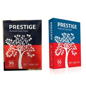 """Prestige® Multi-Use Copy Paper, 8 1/2"""" x 11"""", 20 lb., 96 Bright, 4,000/CT for Sale in Missouri City, TX"""
