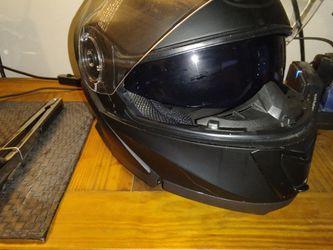Motorcycle Helmet,black for Sale in Jonesboro,  GA