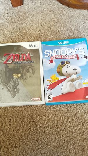 Wii and Wii u games for Sale in Long Beach, CA