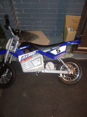 Electric dirt bike for Sale in Homestead, PA