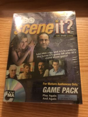 HBO SCENE IT THE DVD GAME NEW SEALED for Sale in Scarborough, ME