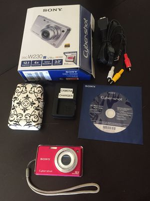 Sony Cyber Shot Camera - DSC W230 for Sale in Poway, CA