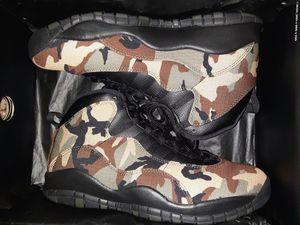 """Ds size 11.5 brand new Jordan retro 10 """"camo"""" OG all for Sale in Everett, WA"""