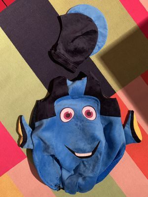 Finding Dory costume - dress up - 2/4t for Sale in Gilbert, AZ