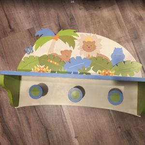 Kids , baby toilet seat,Hanging Coat , good condition( $8 for 1) for Sale in South El Monte, CA