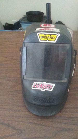 Black Cobra Welding Mask W/ Stickers for Sale in Fort Pierce, FL