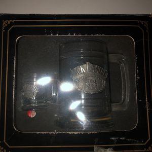 Rare Jack Daniels Old No.7 Brand Glass Mug Set for Sale in Orlando, FL
