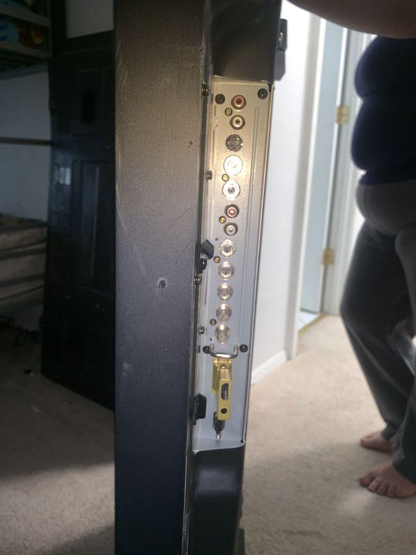 "50"" Panasonic and Pioneer plasma TV and monitor"