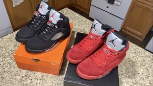 "Air Jordan Retro 5 OG ""Metallic"" + ""Red Suede"" for Sale in Kissimmee, FL"