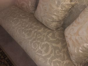 Cream Paisley Print Furniture for Sale in Fort Washington, MD