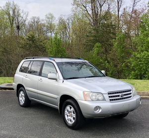 2002 Toyota Highlander Limited 4WD for Sale in Fairfax, VA