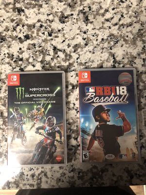 Nintendo switch games for Sale in Hurst, TX