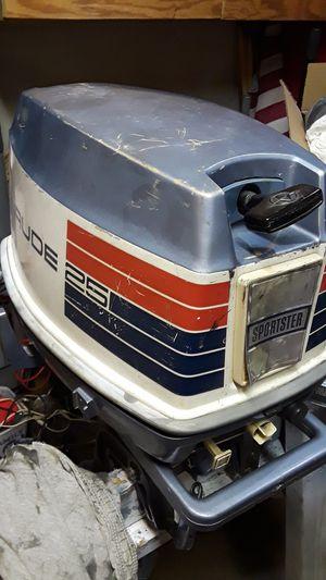25 hp Evinrude for Sale in Romeoville, IL