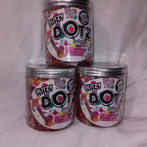 Glitzy Dotz With Foam Beads $5 Each for Sale in Morgan Hill, CA