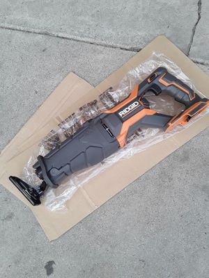 Ridgid 18v reciprocating saw tool only for Sale in Garden Grove, CA