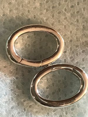 Tiffany & Co SS clasp Charm for Sale in Libertyville, IL