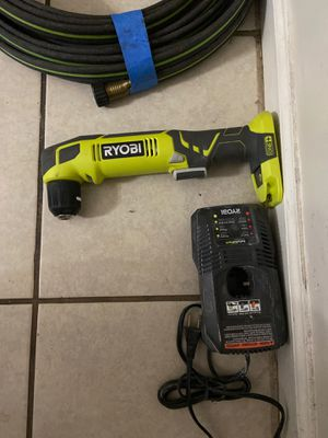 Ryobi Angle drill with charge (no battery ) for Sale in Stockton, CA