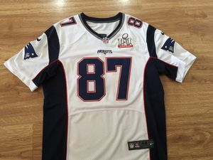 New England Patriots Rob Gronkowski Super Bowl Jersey with SB patch sewn on. Size 48 XL. for Sale in Seal Beach, CA