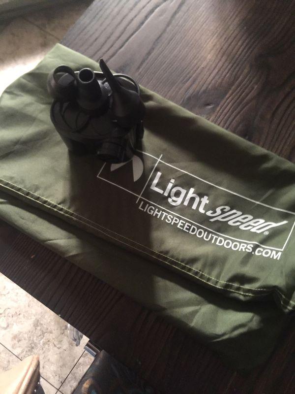 2 Person PVC-Free Air Mattress Lightspeed Outdoor