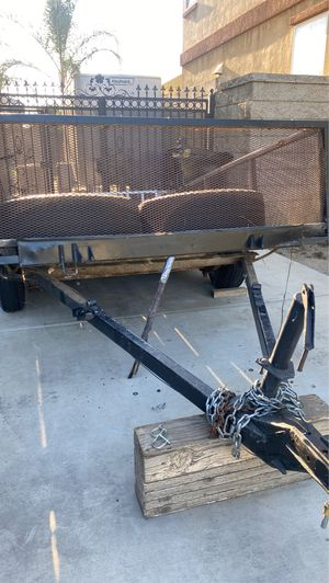 Dump trailer- 6.5'x9' - single axle landscaping for Sale in Fontana, CA