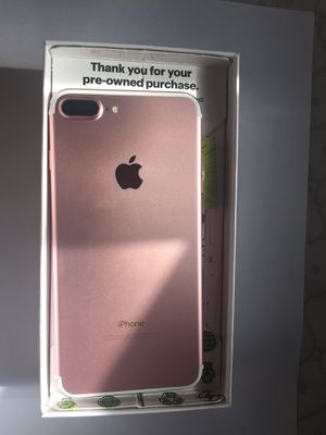 IPHONE 7 PLUS, 34GB, ROSE GOLD for Sale in Warren, MI
