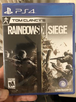 Tom Clancy's rainbow six siege for ps4 new in package only multiplayer game for Sale in San Diego, CA
