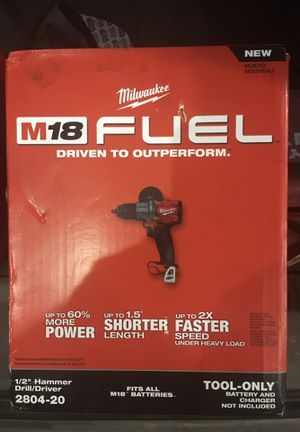 Milwaukee M18 Hammer Drill/Driver for Sale in Tucson, AZ