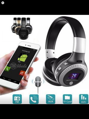 Wireless Bluetooth Stereo Headphone LED Display Noise Cancelling for Sale in Kennewick, WA