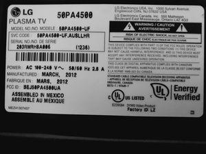 50 inch LG Plasma TV *$175 OBO* for Sale in Jessup, MD