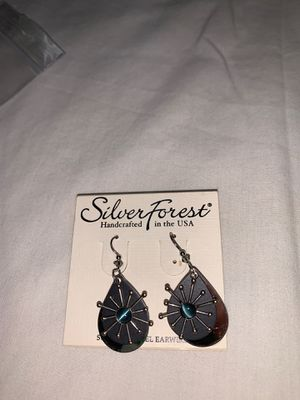 Brand new silver forest earring paid 20 I will take 12 for Sale in Murfreesboro, TN