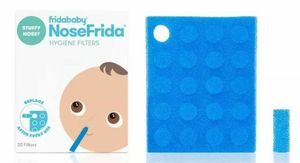 FridaBaby NoseFrida Nasal Aspirator with 20 Hygiene Filters for Sale in Patsey, KY