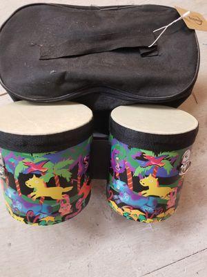Kids bongo set with case for Sale in Las Vegas, NV
