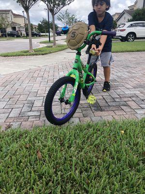 """Turtle Ninja Bike 16"""" for Sale in Miami, FL"""