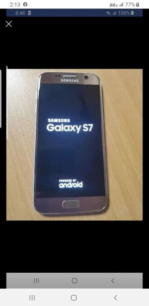 Samsung Galaxy s7 like new unlocked for Sale in Los Angeles, CA