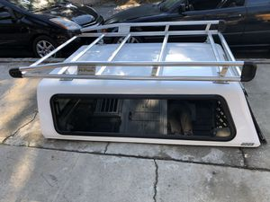 Toyota Tacoma camper shell 6 feet long ARE brand NO ladder rack sold already asking price $650.00 obo. for Sale in Glendale, CA