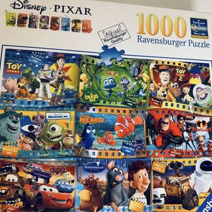 Ravensburger Disney Pixar Moments 1000 Piece Jigsaw Puzzle - NEW/SEALED for Sale in Pineville, LA