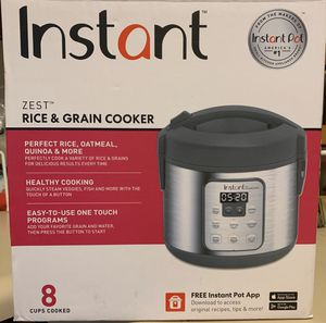 Zest 8-cup Instant Pot NEVER USED for Sale in Renton, WA