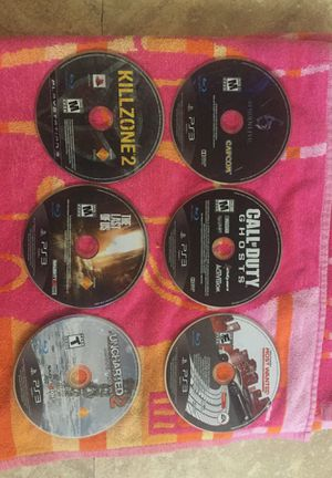 PS3 all games for $10.00 for Sale in Apache Junction, AZ