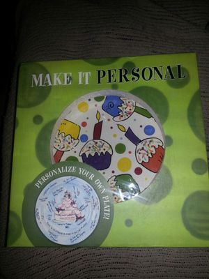 MAKE IT PERSONAL. ..PERSONALIZE YOUR OWN PLATES KIT for Sale in Glen Burnie, MD