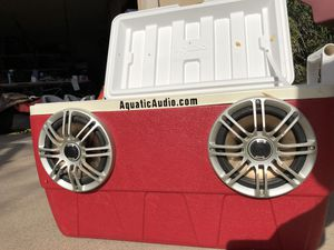 Cooler/Stereo with Polk Marine Speakers for Sale in Scottsdale, AZ