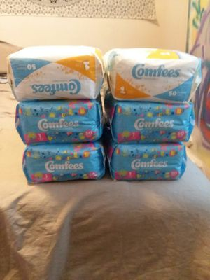 Diapers 50ct 300 total for Sale in Golden, CO