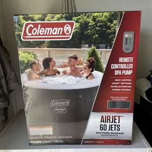 "Coleman Saluspa 71"" x 26"" Havana AirJet Inflatable Hot Tub with Remote Control, 2-4 Person for Sale in Irwindale, CA"