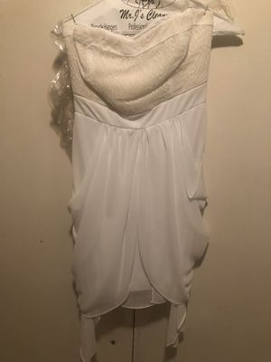 XOXO strapless white wedding dress for Sale in San Diego, CA